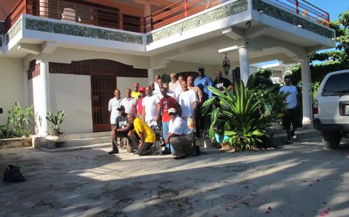 Team Impact at Inspiration Guest House